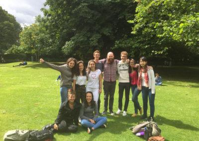 Becarios Eurolingua 2017